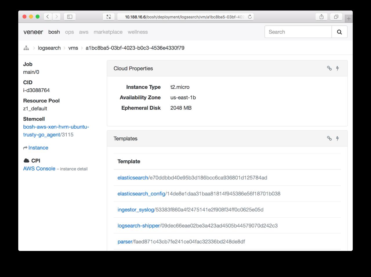 Screenshot: core-login